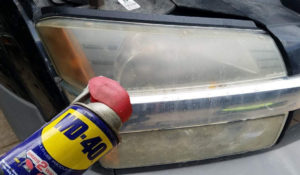 WD-40 for headlights